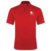 Columbia Red Omni Wick Drive Polo-Official Logo