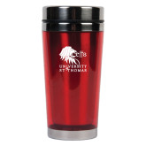 Solano Acrylic Red Tumbler 16oz-Official Logo