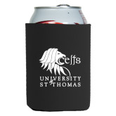 Neoprene Black Can Holder-Official Logo