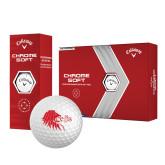 Callaway Chrome Soft Golf Balls 12/pkg-Lion Head w/ Celts