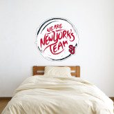3 ft x 3 ft Fan WallSkinz-We are New Yorks Team