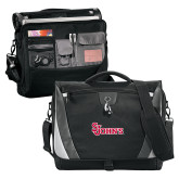 Slope Black/Grey Compu Messenger Bag-St Johns