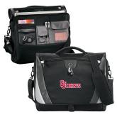 Slope Black/Grey Compu Messenger Bag-St Johns