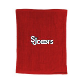 Red Rally Towel-St Johns
