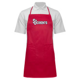 Full Length Red Apron-St Johns