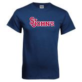 Navy T Shirt-St Johns