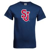 Navy T Shirt-SJ