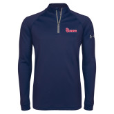 Under Armour Navy Tech 1/4 Zip Performance Shirt-St Johns