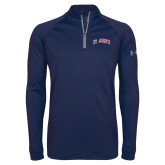 Under Armour Navy Tech 1/4 Zip Performance Shirt-St Johns script