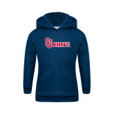 Youth Navy Fleece Hoodie-St Johns