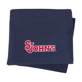 Navy Sweatshirt Blanket-St Johns