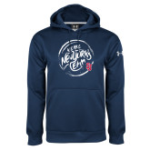 Under Armour Navy Performance Sweats Team Hoodie-We are New Yorks Team