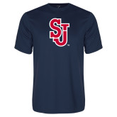 Syntrel Performance Navy Tee-SJ