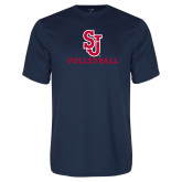 Syntrel Performance Navy Tee-Volleyball