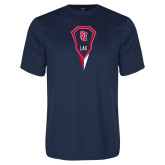 Syntrel Performance Navy Tee-Modern Lacrosse Stick