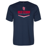 Syntrel Performance Navy Tee-Baseball Plate Design