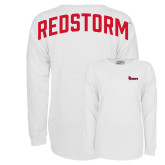 J America White Game Day Jersey-St Johns