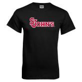 Black T Shirt-St Johns
