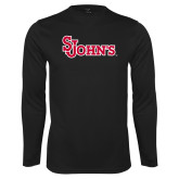 Syntrel Performance Black Longsleeve Shirt-St Johns