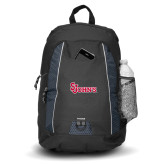 Impulse Black Backpack-St Johns