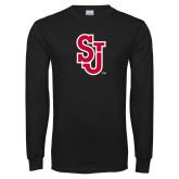 Black Long Sleeve T Shirt-SJ