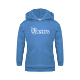 Youth Light Blue Fleece Hoodie-St Johns