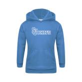 Youth Light Blue Fleece Hoodie-St Johns
