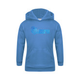 Youth Light Blue Fleece Hoodie-St Johns Foil
