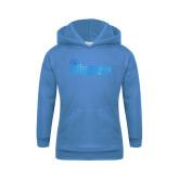 Youth Light Blue Fleece Hoodie-St Johns Foil