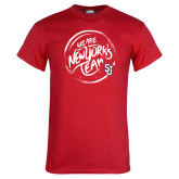 Red T Shirt-We are New Yorks Team