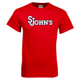 Red T Shirt-St Johns