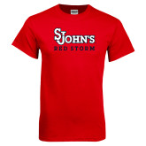 Red T Shirt-St Johns Red Storm