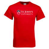 Red T Shirt-University Mark Flat
