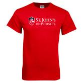 Red T Shirt-University Mark Flat