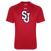 Under Armour Red Tech Tee-SJ