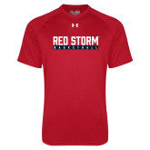Under Armour Red Tech Tee-Basketball Bar Design