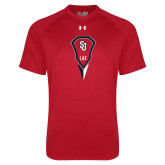 Under Armour Red Tech Tee-Modern Lacrosse Stick