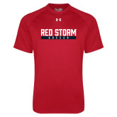 Under Armour Red Tech Tee-Soccer Bar Design