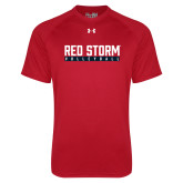 Under Armour Red Tech Tee-Volleyball Bar Design