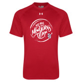 Under Armour Red Tech Tee-We are New Yorks Team