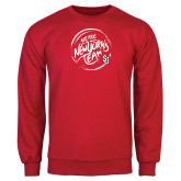 Red Fleece Crew-We are New Yorks Team