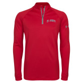 Under Armour Red Tech 1/4 Zip Performance Shirt-St Johns script