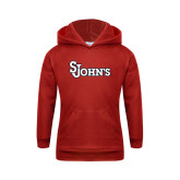Youth Red Fleece Hoodie-St Johns
