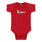 Red Infant Onesie-St Johns