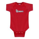 Red Infant Onesie-St Johns