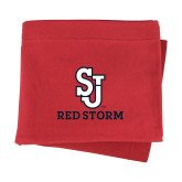 Red Sweatshirt Blanket-SJ Redstorm Stacked