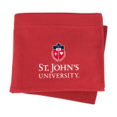 Red Sweatshirt Blanket-University Mark Stacked