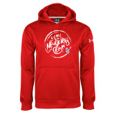 Under Armour Red Performance Sweats Team Hoodie-We are New Yorks Team