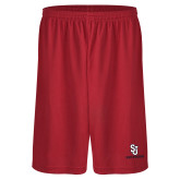 Performance Classic Red 9 Inch Short-SJ Redstorm Stacked