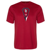 Syntrel Performance Red Tee-Modern Lacrosse Stick